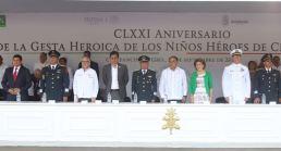 CONMEMORA EL GOBERNADOR HÉCTOR ASTUDILLO Y EL EJÉRCITO LA GESTA HEROICA DE LOS NIÑOS HÉROES DE CHAPULTEPEC (1)