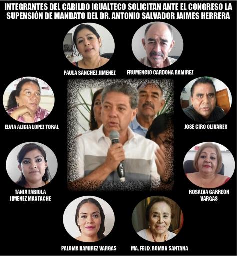 SUSPENSION DE MANDATO ANTONIO JAIMES