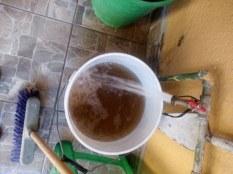agua sucia