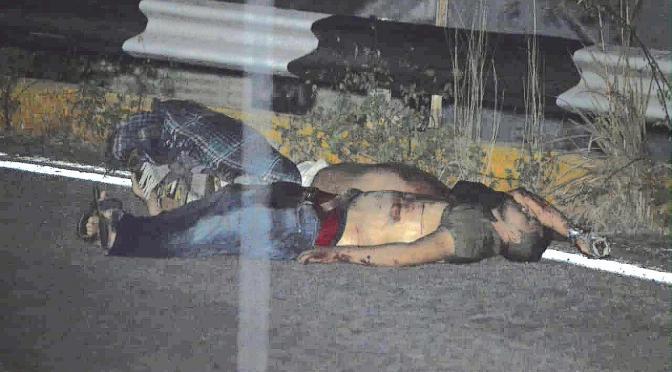Dejan a dos hombres torturados y asesinados al Sur de Chilpancingo