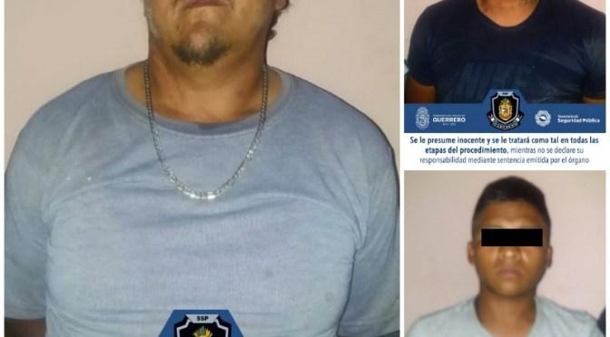 Detienen a cuatro hombres en Huitzuco, con armas y cartuchos de uso exclusivo del Ejército