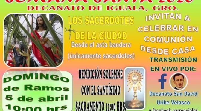 Oficiarán misa el próximo Domingo en el cerro del Asta